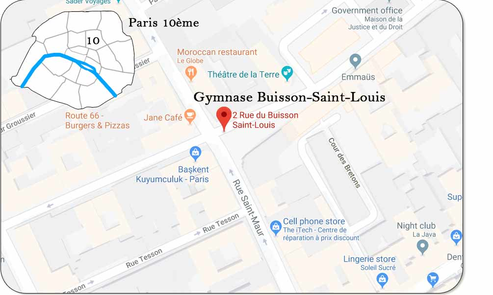 Gymnase Buisson-Saint-Louis
