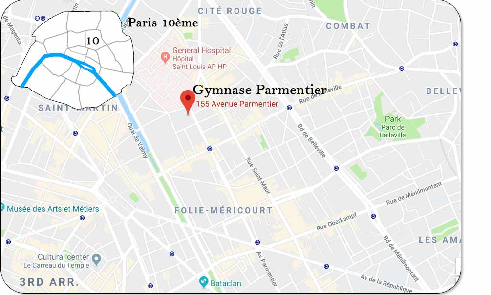 Gymnase Parmentier Paris 75010